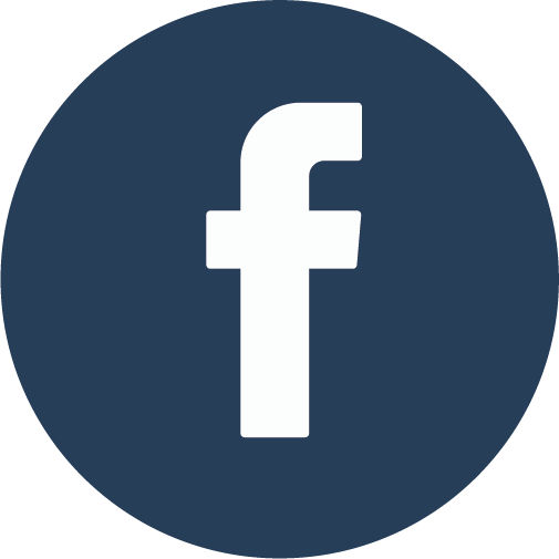 Logo Facebook in BCG-blauw