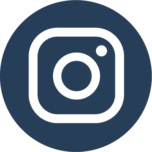 Logo Instagram in BCG-blauw